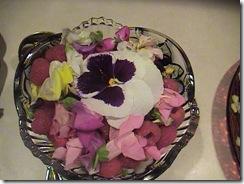 like faerie food, flower petals and raspberries